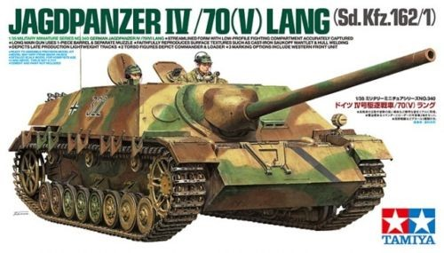 German Jagdpanzer IV/70-V-Lang - Tamiya 35340 - plastic model kit  - 1/35 scale