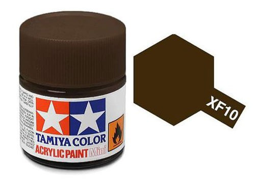 Acrylic Mini XF-10 Flat Brown - 81710 - 10ml Bottle