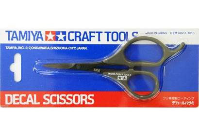 Tamiya Decal Scissors tool - 74031
