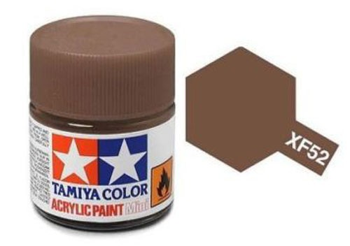 Acrylic Mini Tamiya XF-52 Flat Earth - 81752 - 10ml Bottle
