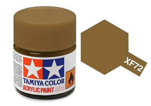 Acrylic Mini Tamiya XF-72 Flat Brown JGSDF - 81772 - 10ml Bottle