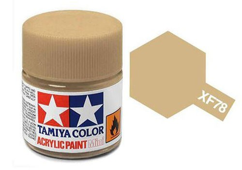 Acrylic Mini Tamiya XF-78 Flat Wooden Deck Tan - 81778 - 10ml Bottle