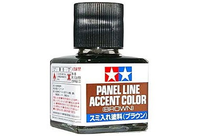 Tamiya Panel Line Accent Color tool - Sepia Brown - 87132