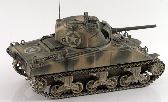 Early Production Medium Tank M4 Sherman Tamiya U S