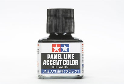 Tamiya Panel Line Accent Color tool - Black - 87031